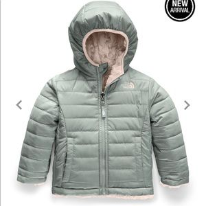 THE NORTH FACE 4T REVERSIBLE MOSSBUD SWIRL JACKET